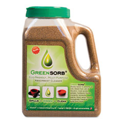 GreenSorb™ Eco-Friendly Sorbent, Clay, 4 lb Shaker Bottle