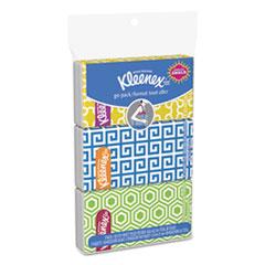 Kleenex® On The Go Packs Facial Tissues, 3-Ply, White, 30 Sheets/Pack, 36 Packs/Carton