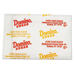 Domino® Sugar Portion Packets, 0.1 oz Packets, 2000/Carton