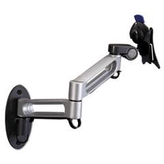 BALT® Dual Arm Wall Mount, Steel/Plastic, 17 x 15 x 7, Gray/Black