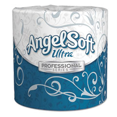 Georgia Pacific® Professional Angel Soft ps Ultra 2-Ply Premium Bathroom Tissue, Septic Safe, White, 400 Sheets Roll, 60/Carton