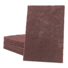 Scotch-Brite™ PROFESSIONAL General Purpose Hand Pad, 6 x 9, Maroon, 20 BX, 3 BX/CT