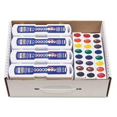 Prang® Professional Watercolors, 8 Assorted Colors,Masterpack, 36/Set