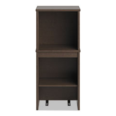 Bush® Envoy Series Narrow Hutch, 16w x 14.25d x 36.25h, Mocha Cherry
