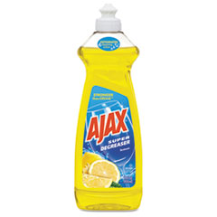 Ajax® Dish Detergent, Lemon Scent, 28 oz Bottle, 9/Carton