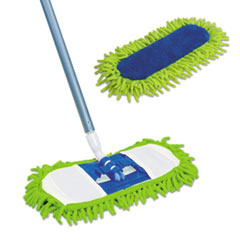 Quickie® Swivel Soft™ Microfiber Hardwood Dust Mop Thumbnail