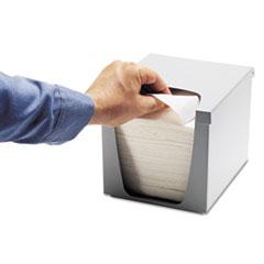 Kimberly-Clark Professional* Quarterfold Wiper Dispenser, Plastic, 7.5 x 9 x 7.4, Gray, 6/Carton