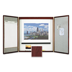 Quartet® Marker Board Cabinet with Projection Screen Thumbnail