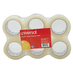 Universal® Deluxe General-Purpose Acrylic Box Sealing Tape Thumbnail