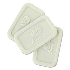 Unwrapped Amenity Bar Soap, Fresh Scent, # 1/2, 1000/Carton