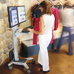 Ergotron® Neo-Flex® WideView WorkSpace