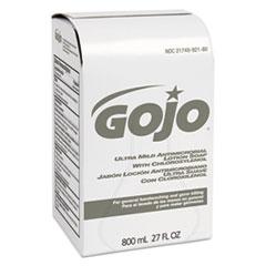 GOJO® Ultra Mild Lotion Soap w/Chloroxylenol Refill, Floral Balsam, 800 mL, 12/Carton