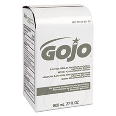 GOJO® Ultra Mild Lotion Soap with Chloroxylenol Refill, Floral Balsam, 800 mL