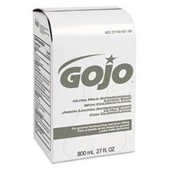 GOJO® Ultra Mild Lotion Soap w/Chloroxylenol Refill, Floral Balsam, 800mL