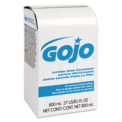GOJO® Lotion Skin Cleanser Refill, Liquid, Floral, 800 mL Bag