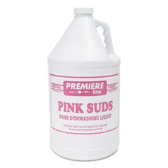 Kess Premier Pink-Suds Pot and Pan Cleaner, 1 gal, Bottle, 4/Carton