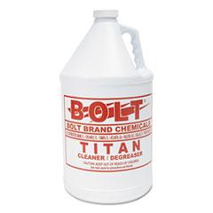 Kess Titan Liquid BSD Degreaser, 1 gal, Bottle, 4/Carton