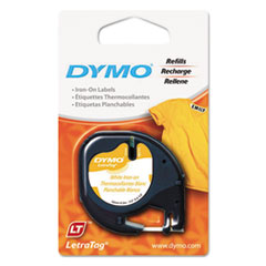 DYMO® LetraTag® Fabric Iron-On Labels