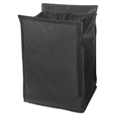 "Rubbermaid® Commercial Executive Quick Cart Liner, 12.8"" x 14.5"", Black"