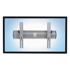Ergotron® TM Tilting Wall Mount, 27.75w x 3.5d x 18.63h, Silver