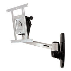 Ergotron® LX HD Wall Mount Swing Arm, 2w x 13d x 12h, Polished Aluminum