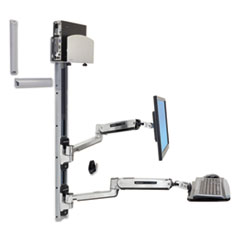 Ergotron® LX Sit-Stand Wall Mount System