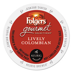Folgers® Gourmet Selections™ Lively Colombian Coffee K-Cups® Thumbnail
