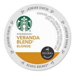 Starbucks® Veranda Blend Coffee K-Cups Pack, 24/Box