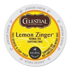 Celestial Seasonings® Lemon Zinger® Herbal Tea K-Cups® Thumbnail