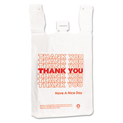 Barnes Paper Company Plastic Thank-You T-Sack Thumbnail