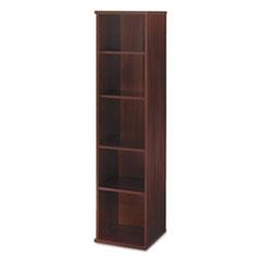 Series C Collection 18W 5 Shelf Bookcase, Hansen Cherry