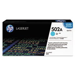 HP 502A, (Q6471A) Cyan Original LaserJet Toner Cartridge