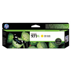 HP HP 971XL, (CN628AM) High Yield Yellow Original Ink Cartridge HEWCN628AM