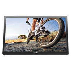 "AOC USB Powered LCD Monitor,16"", 16:9 Aspect Ratio"