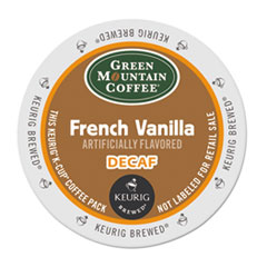 Green Mountain Coffee® French Vanilla Decaf Coffee K-Cups® Thumbnail