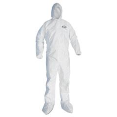 KleenGuard* A45 Prep & Paint Coveralls, White, 3X-Large, 25/Carton