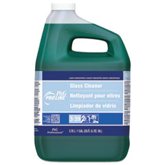 P&G Pro Line® Glass Cleaner, Fresh Scent, 1 gal Bottle, 2/Carton