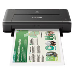 Canon® PIXMA iP110 Color Inkjet Printer CNM9596B002