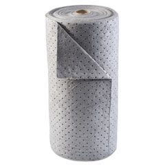 Anchor Brand® Universal Sorbent-Pad Roll, 30w x 120ft, Gray