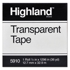 Highland(TM) Transparent Tape
