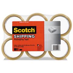 "Scotch® 3350 General Purpose Packaging Tape, 1.88"" x 54.6yds, 3"" Core, Tan, 6/Pack"