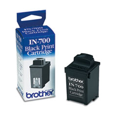 Brother IN700 Ink, 1,000 Page-Yield, Black