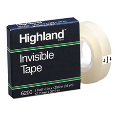 Highland(TM) Invisible Permanent Mending Tape
