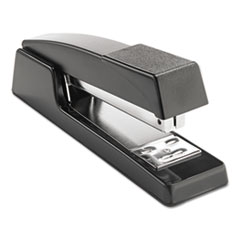 Universal® Classic Full-Strip Stapler, 20-Sheet Capacity, Black
