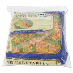 Boardwalk® Reclosable Freezer Storage Bags, 1 Gal, Clear, LDPE, 2.7 mil, 10.56 x 11, 250/BX BWK1GALFZRBAG