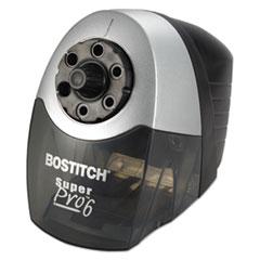 Bostitch® Super Pro 6 Commercial Electric Pencil Sharpener, Gray/Black
