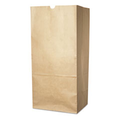 "Duro Bag Lawn and Leaf Self-Standing Bags, 30 gal, 16"" x 35"", Kraft Brown, 50/Carton"