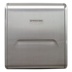 Kimberly-Clark Professional* MOD Recessed Dispenser Narrow Housing, Stainless Steel, 10 3/4 x 4 x 15.37