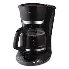 Mr. Coffee® 12-Cup Programmable Coffeemaker, Black MFEDWX23RB