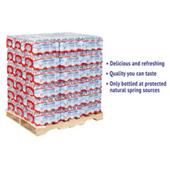 Crystal Geyser® Alpine Spring Water, 16.9 oz Bottle, 35/Case, 54 Cases/Pallet